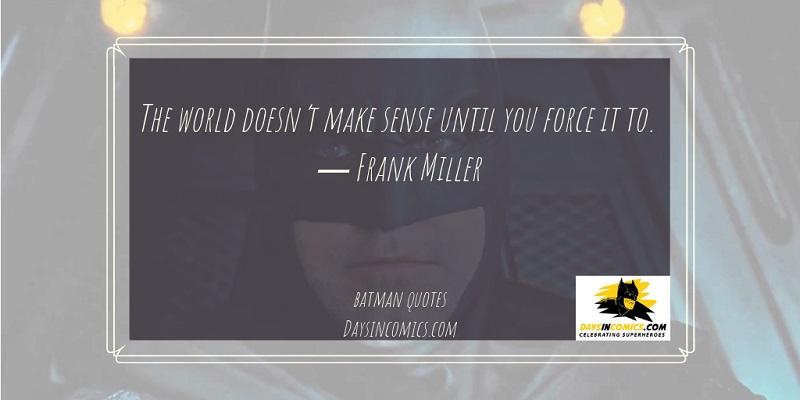 Batman Quotes 2019