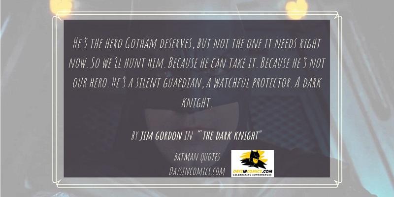 15. He's the hero Gotham deserves.