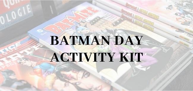 Batman Day Activity Kit 2019